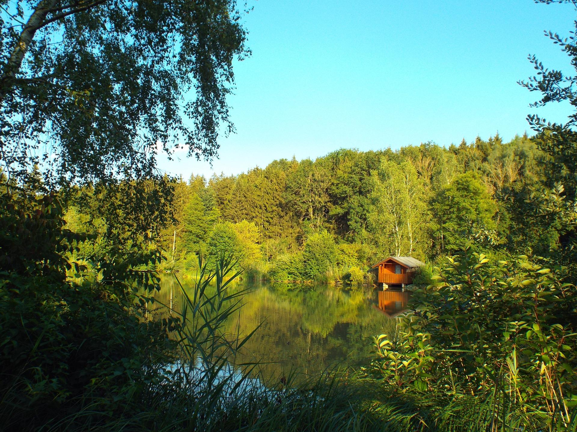 Wir suchen für vorgemerkte Kunden einen größeren Fischweiher/kleinen See mit Wochenendhäuschen in idyllischer Lage im Raum Oberpfalz zum Kauf gesucht